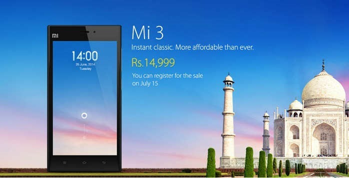 Xiaomi Mi3 India Launch1 Home