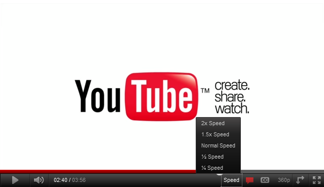 youtube playback speed Home