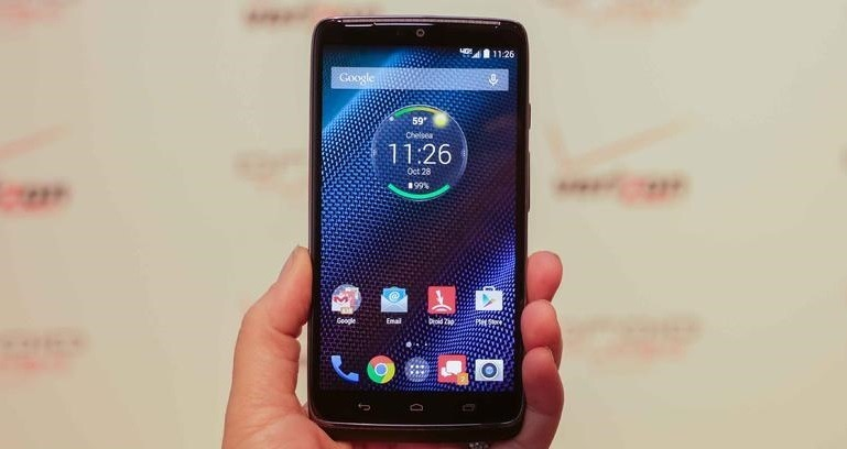 droid turbo The Motorola 'Monster' Droid Turbo with QHD Display